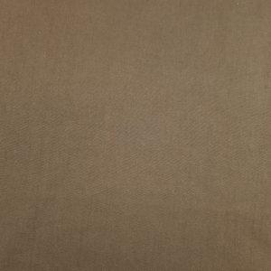 Coton uni couleur marron chocolat