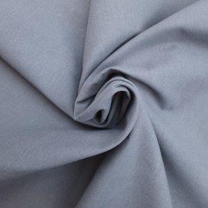Coton uni gris flanelle