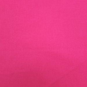 Coton uni couleur rose camélia