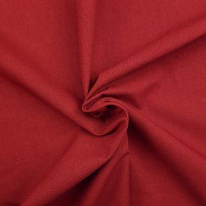 Coton uni rouge grenat
