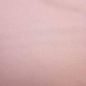 Popeline de coton bio uni rose pâle