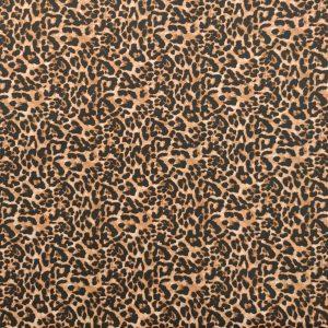 Coton imprimé léopard