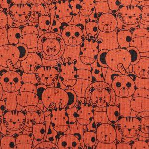 Jersey motifs animaux du zoo