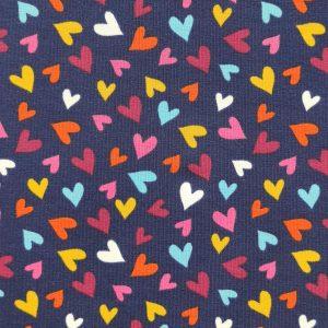 Jersey motif petits coeurs
