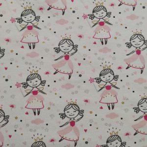 Jersey imprimé princesses