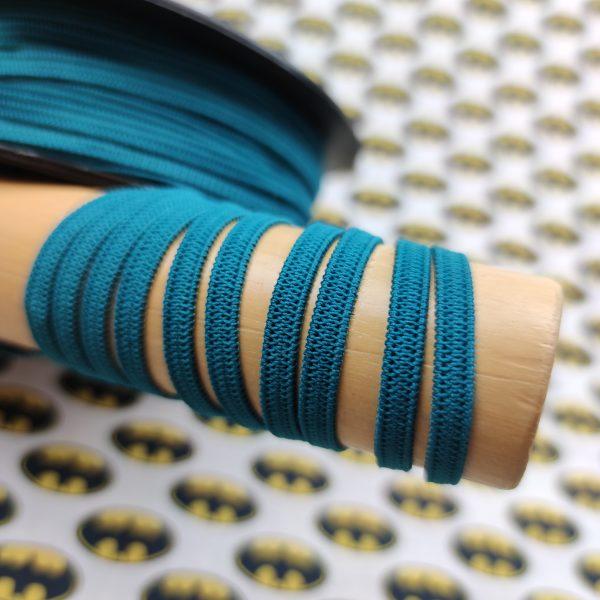 elastique maque bleu canard
