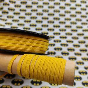 Elastique spécial masque jaune