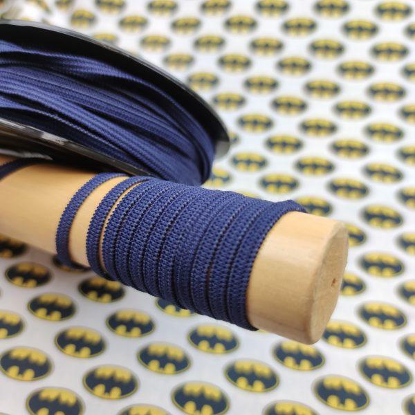 elastique masque bleu marine