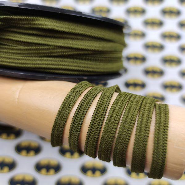 Elastique masque vert kaki