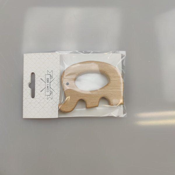 anneau de dentition forme éléphant