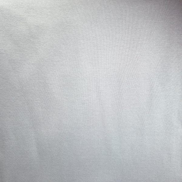 bord cote, jersey, tubulaire, coton, bio, gris cendré