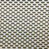 coton, blanc, jaune, noir, logo baman, chauve-souris