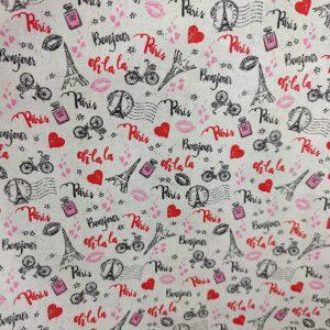 Coton «Passion Paris»