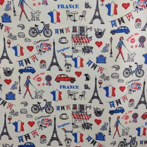 Coton thème France