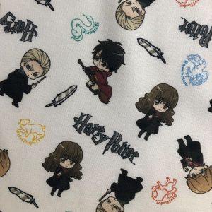 Coton bio thème Harry Potter