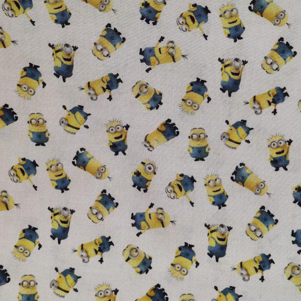 coton, minion, jaune, bleu , blanc