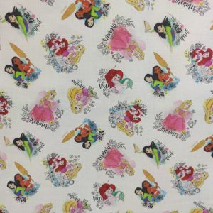 Coton bio princesses disney