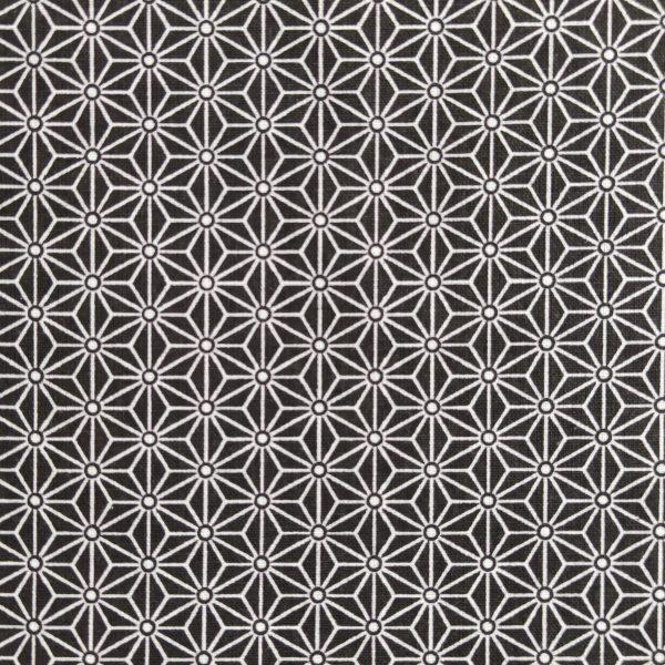 coton, saki, noir, blanc