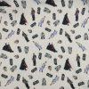 coton, star wars, noir, bleu, blanc