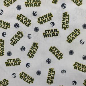 Coton bio logo «Star wars»