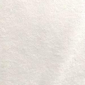Microfibre de bambou unie blanche