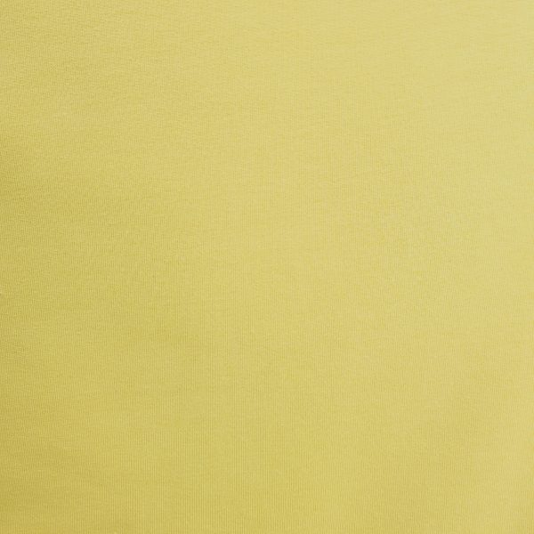 jersey, french terry, bio, jaune cendré, coton
