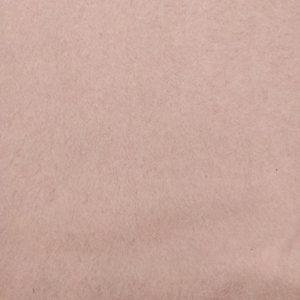 Polaire coton bio rose pâle