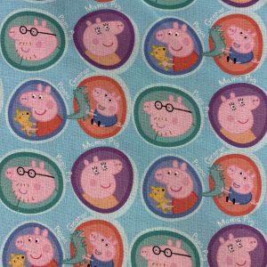 Coton bio peppa pig