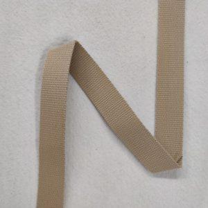 Sangle coton 30 mm beige