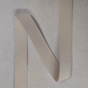 Sangle coton 30 mm écrue