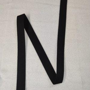 Sangle coton 30 mm noire