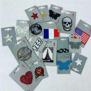 Badges thermocollants