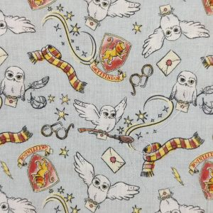 Coton bio thème Harry Potter seconde édition