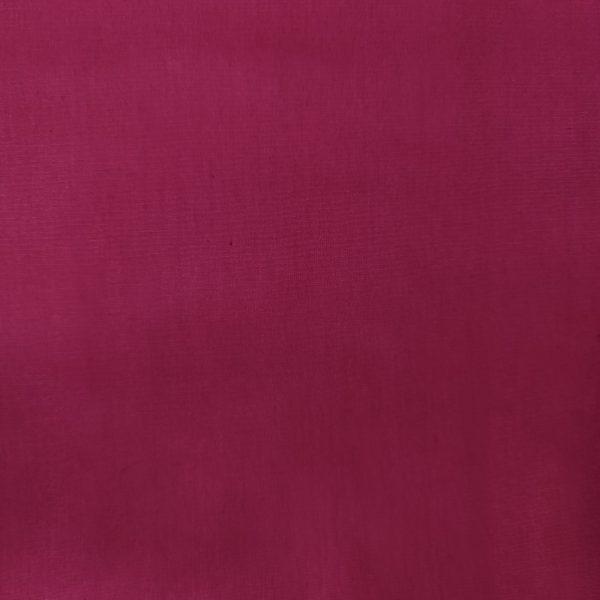 popeline de coton rose fuschiafoncé