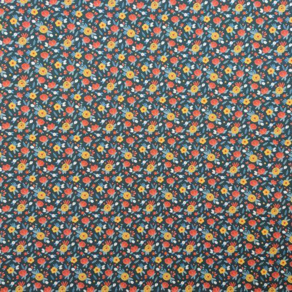 Coton bio fnod marine fleurs des champs