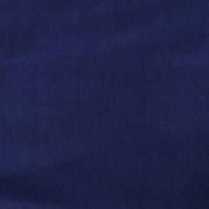 Popeline de coton bio unie bleue marine
