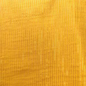 Double Gaze jaune lurex