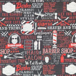 Coton noir barber shop