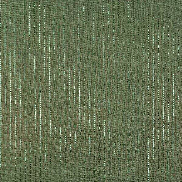 double gaze verte avec fil lurex