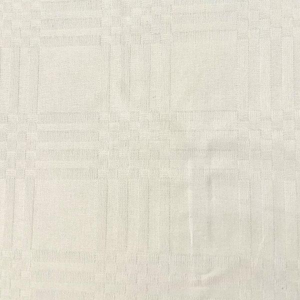 coton, mozaïque, blanc, nappe