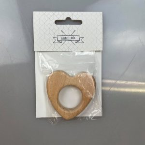 Anneau de dentition coeur