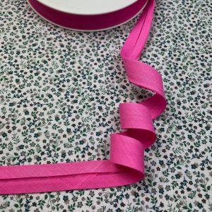 Biais rose bonbon 20 mm