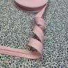 biais, rose, rose pâle, 20 mm