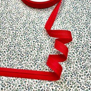 Biais rouge vif 20 mm