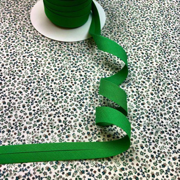 biais, 20 mm, vert gazon