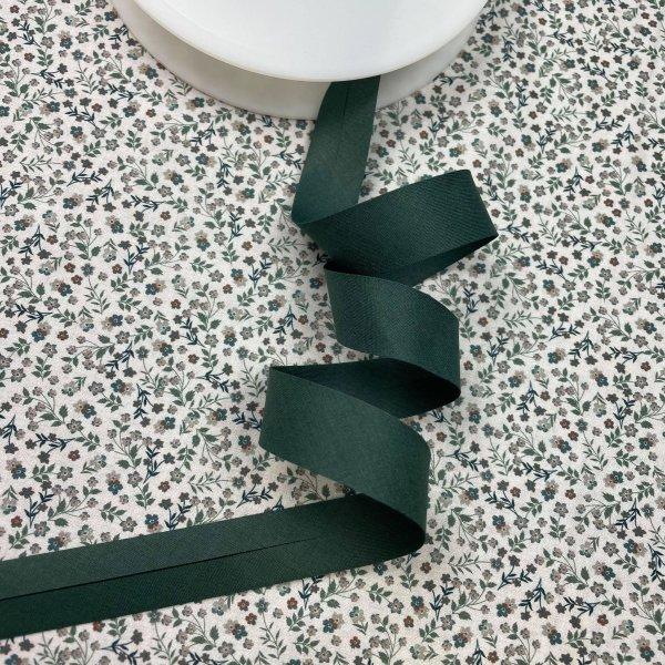biais, vert impérial, 20 mm