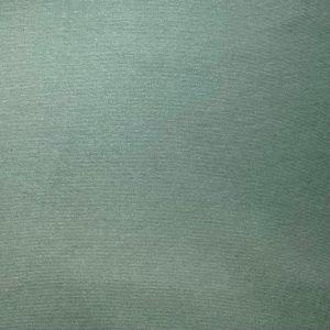 Bord côte uni bio vert cendré