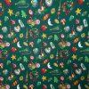 coton, vert, noël, luge, lune, boules de décorations, buche, blanc, rouge, biscuit, marron, jaune, coeur