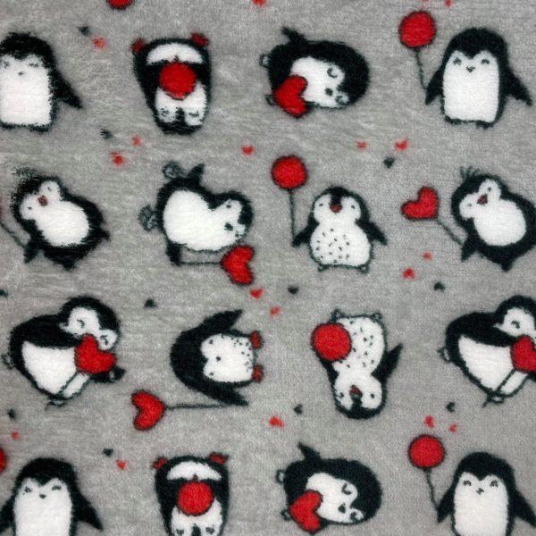 doudou, double face, reversible, ballon, coeur, rouge, gris, blanc, noir, doux, pingoin, mignon, adulte, enfant, gros pois, pois, câlin, polyester